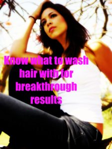 what to wash hair with