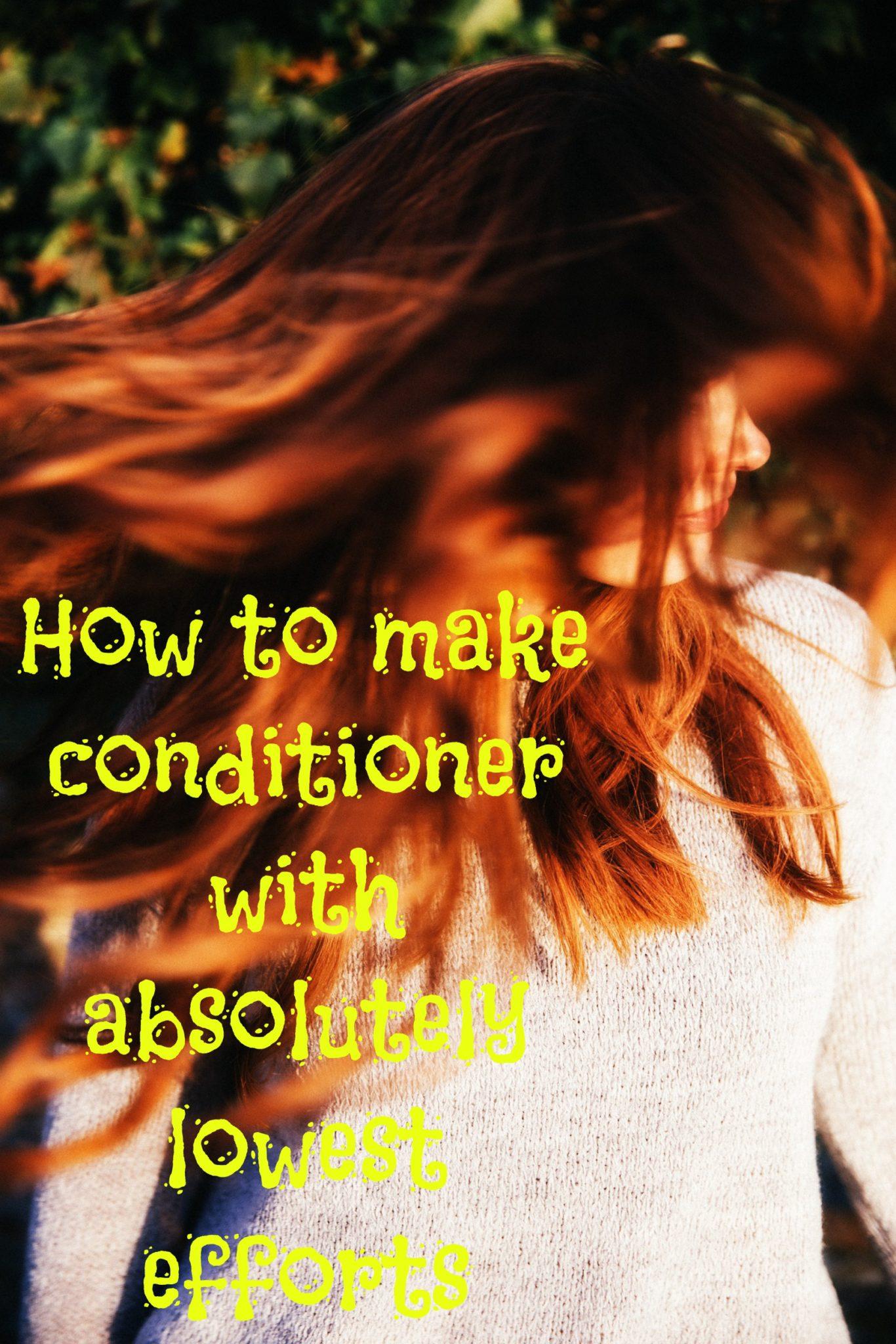 make conditioner ~ header
