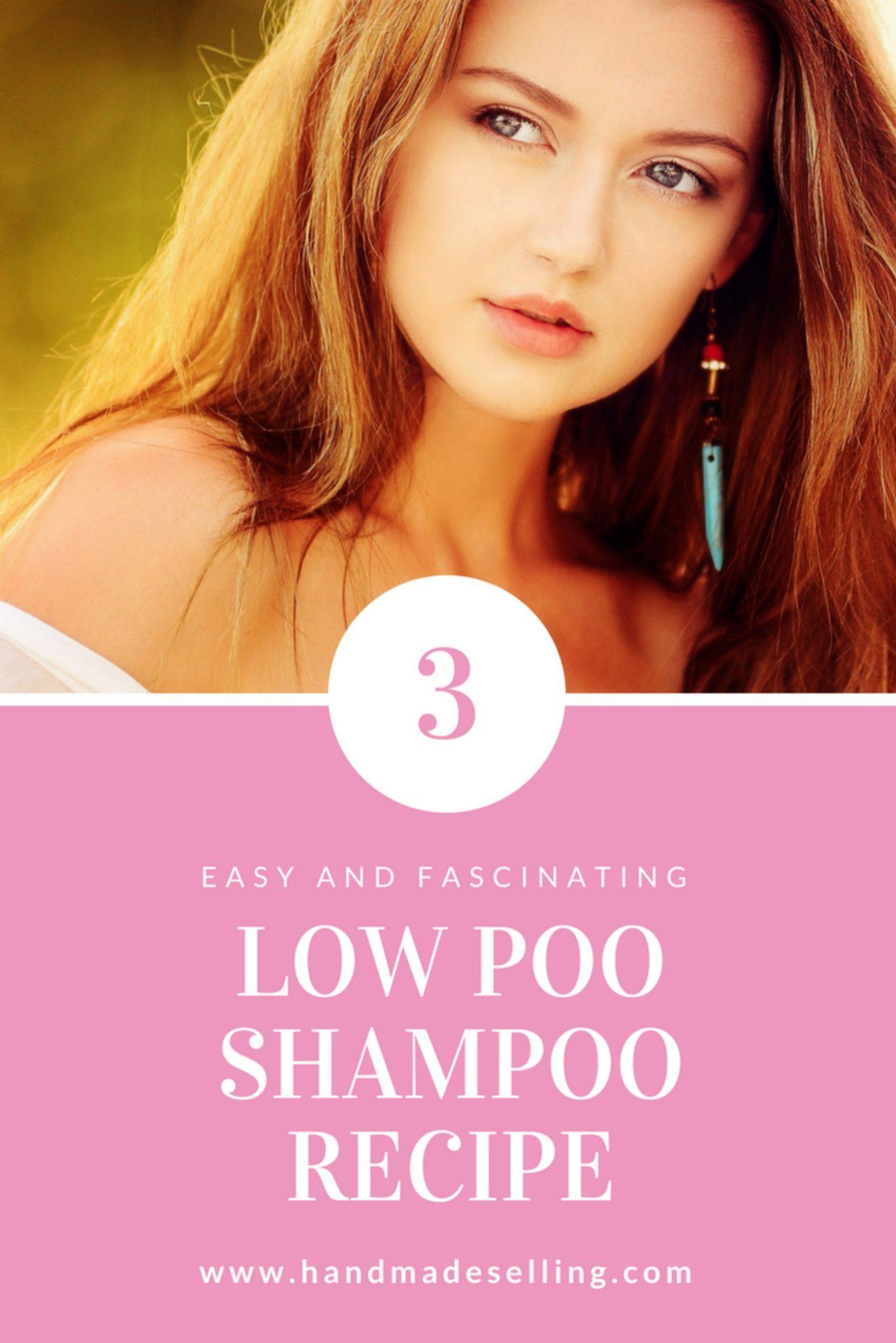 How to Make 3 Low Poo Shampoo Recipe
