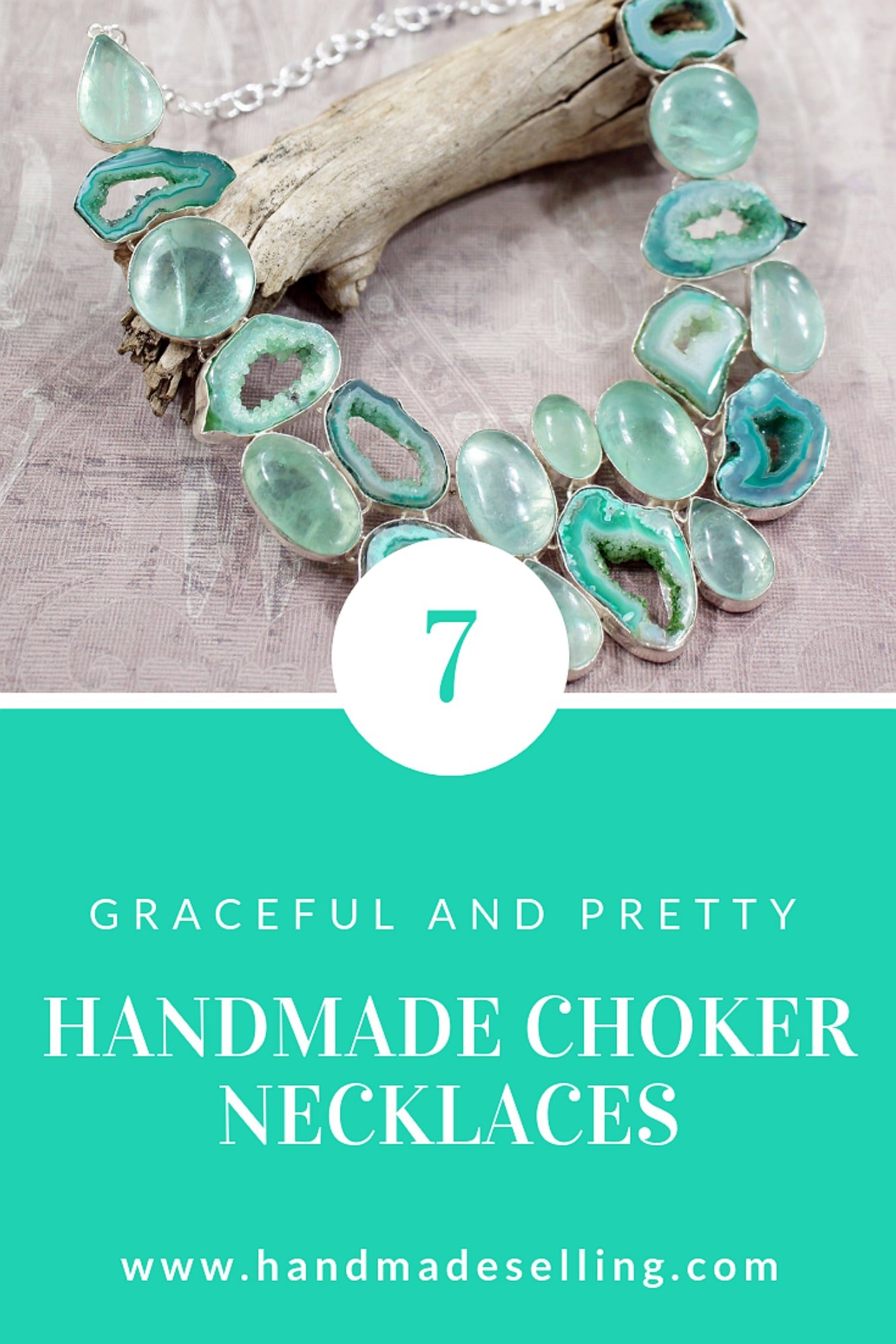 Know How to Look Beautiful With Handmade Choker Necklaces