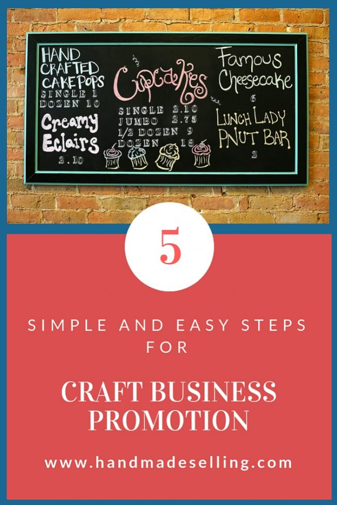 How to Promote Craft Business for the First Time Newbies