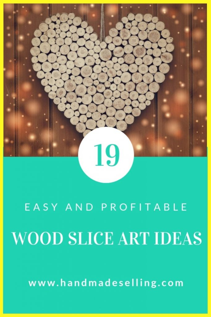 wood slice art ideas ~ header