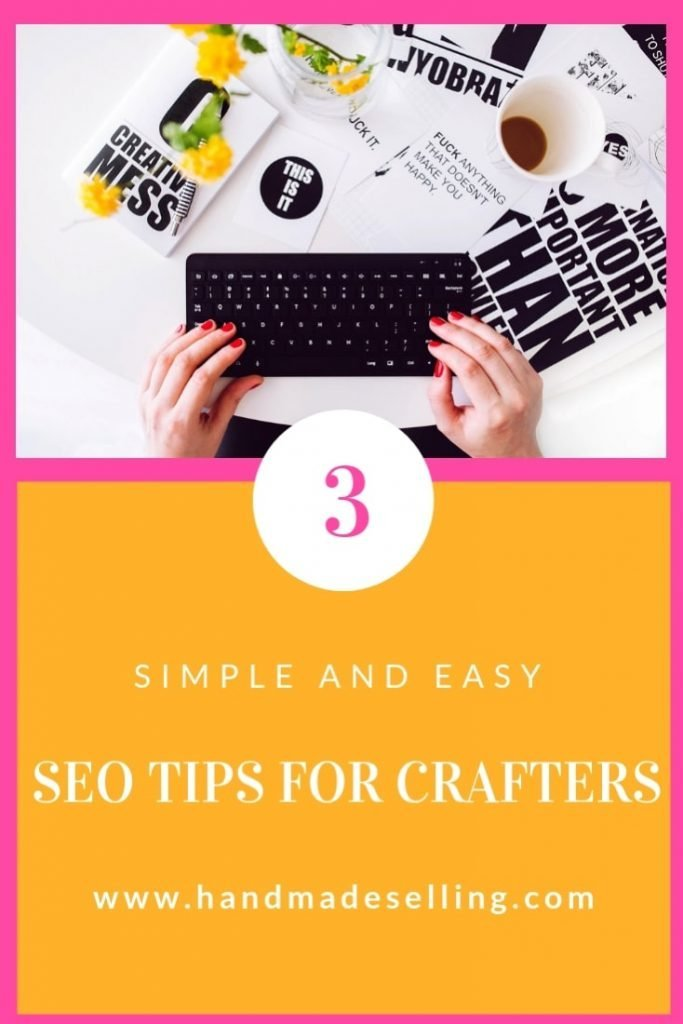 seo tips for crafters ~ header