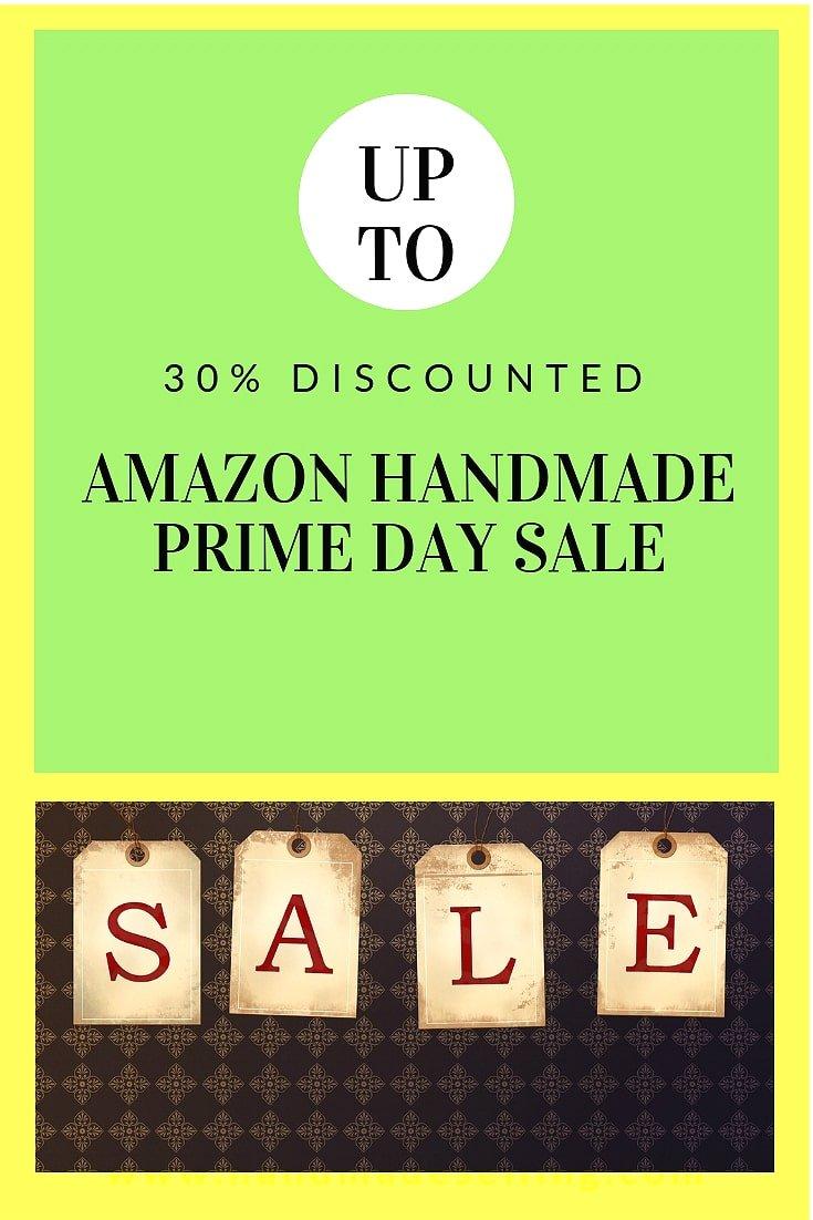 amazon handmade prime day sale
