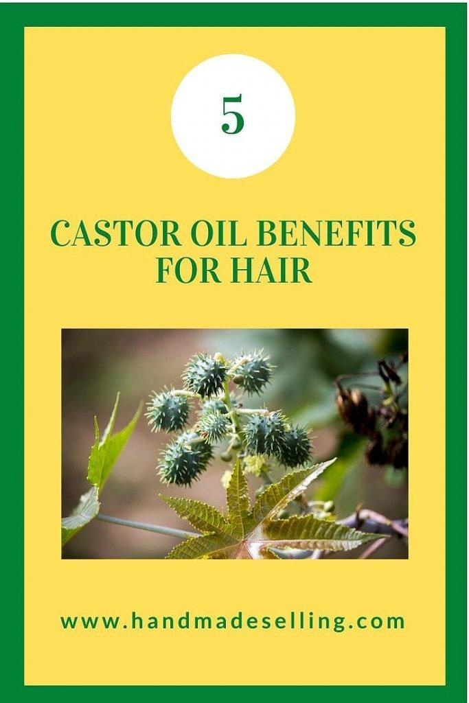 castor oil benefits for hair pinterest