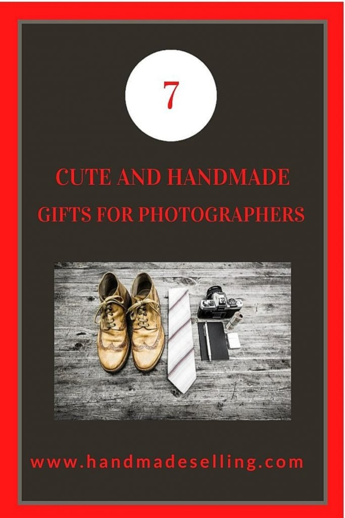 handmade gifts for photographers ~ Pinterest