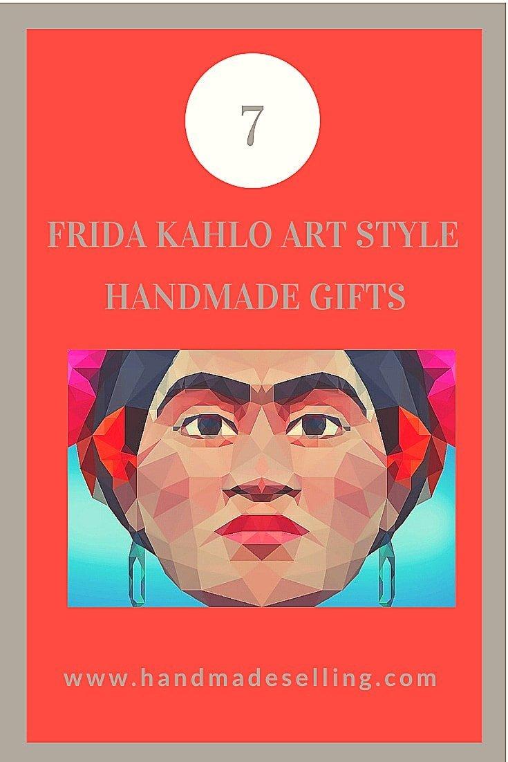 frida kahlo art style gifts
