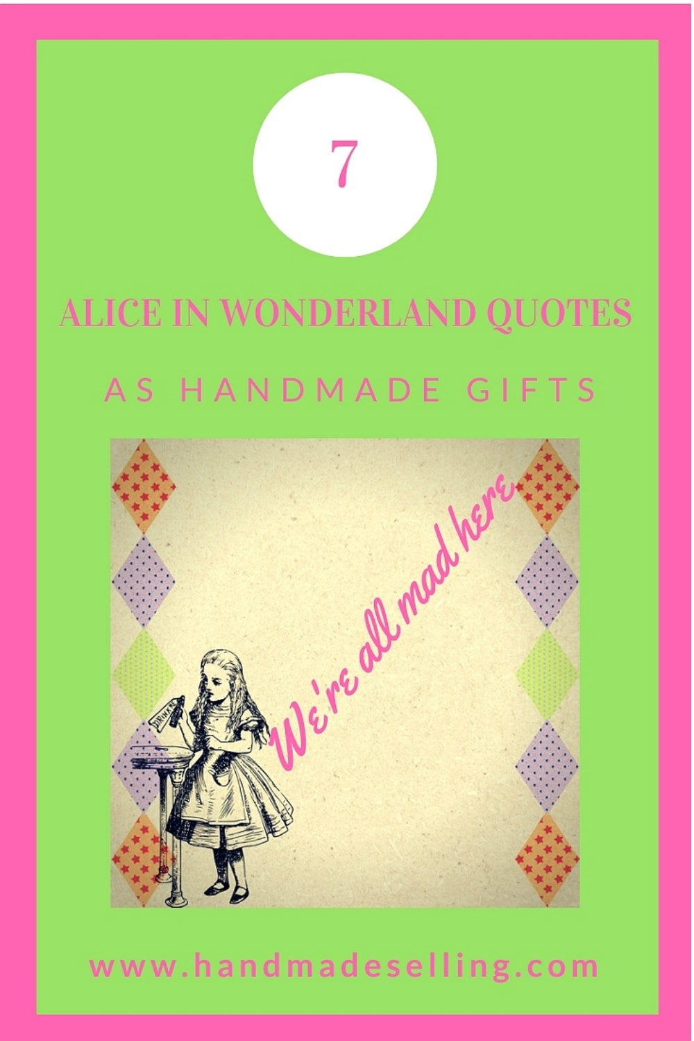alice in wonderland quotes as gifts
