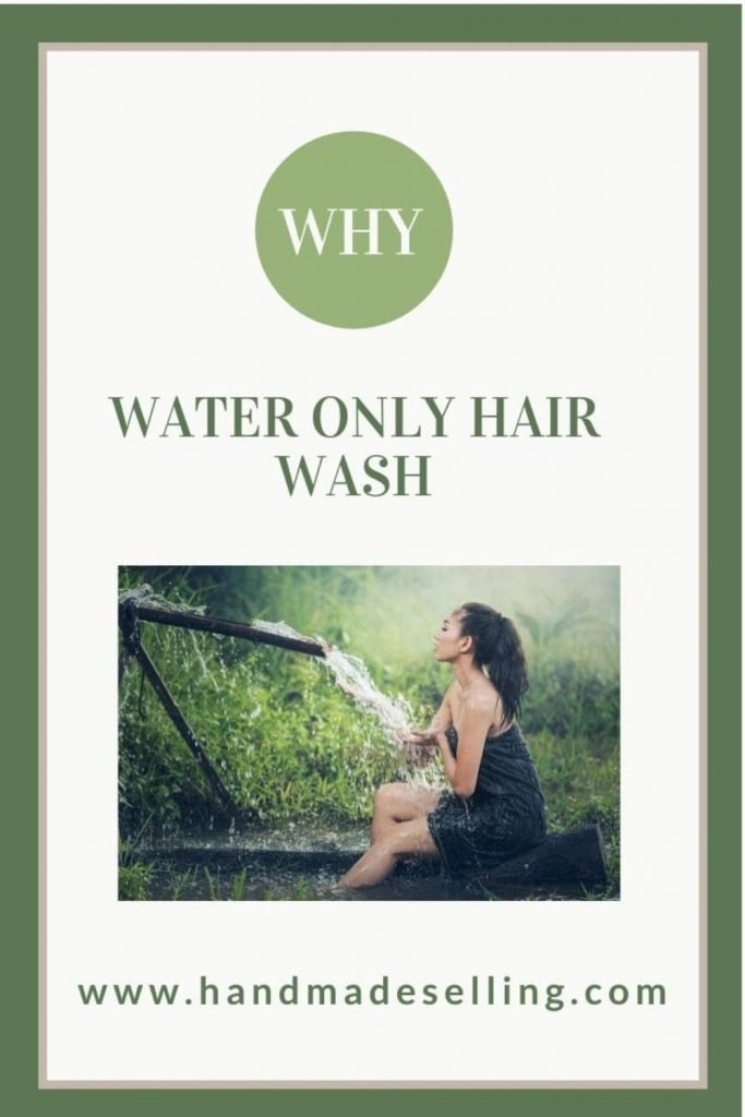 water only hair washing
