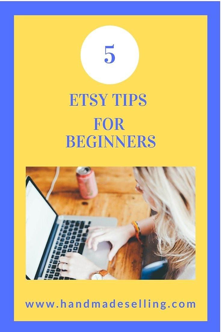 etsy tips for beginners ~ Pinterest