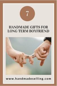 handmade gifts for long distance boyfriend