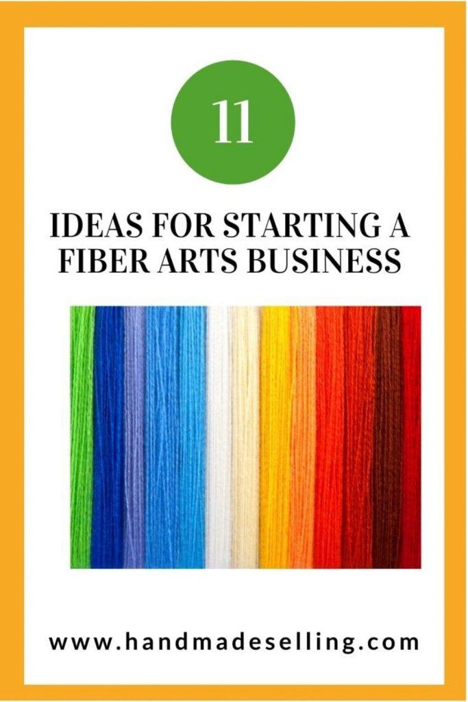 starting a fiber arts business